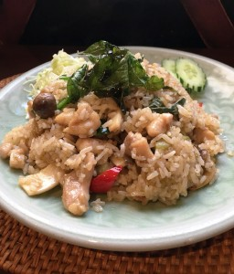 fried rice green curry