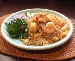fried rice spicy shrimp